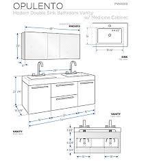 Standard Height Of Vanity Bathroom Bathroom Vanity Cabinet Dimensions On Bathroom Beautiful