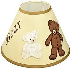 amazon com geenny lamp shade teddy bear nursery lamps baby