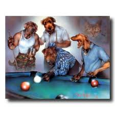 pool table wall art dogs shooting playing pool wall picture art print dog