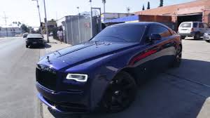 roll royce garage rolls royce wraith brian goldstein u0027s garage youtube