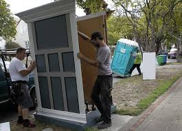 wedding porta potty disguises for portable toilets with something to hide sfgate