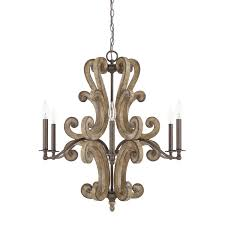 V A Chandelier by 6 Light Chandelier Capital Lighting Fixture Company