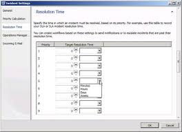 Help Desk Priority Matrix Microsoft System Center Service Manager Part 4 Initial Use Of