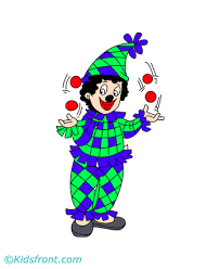 funny joker coloring pages kids color print