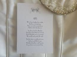 wedding gift list poems gift list poems