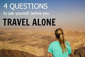 travel alone images Destinations recommended for those who want to travel alone jpg