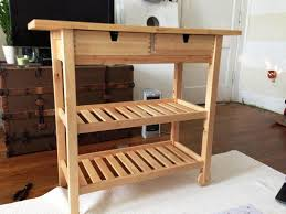 unfinished wood kitchen carts nucleus home