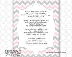 baby shower poems pink princess crown baby shower thank you poem notes instant