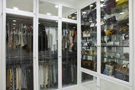 closet glass doors glass front doors contemporary closet la closet design