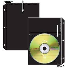 cd dvd archival pocket refils arrowfile the archival