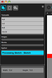 tutorial using syphon with processing to stream video into