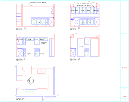 Autocad Kitchen Design by Autocad Sample Drawings
