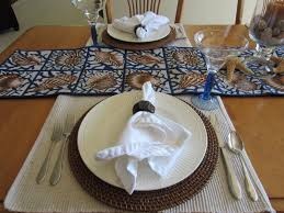 casual table setting calypso in country