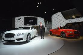 bentley india bentley rolls out continental gt v8 s in detroit