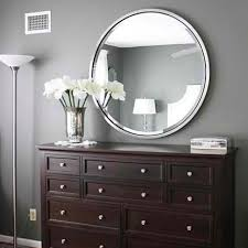 bathroom espresso dresser with silver frame round bellacor