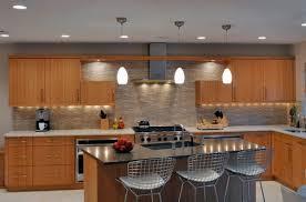 Modern Pendant Lighting Kitchen Kitchen Design Modern Kitchen With Lovely Pendant