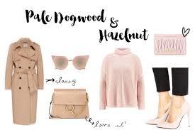2017 Fashion Color Pantone Fashion Colors 2017 Pale Dogwood U0026 Hazelnut Fashionnes