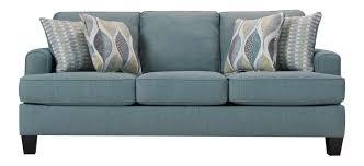 Sleeper Sofa Queen by Willoughby Queen Sleeper Sofa Aqua Raymour U0026 Flanigan