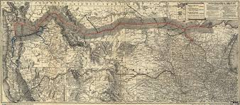 Map Of Northern America by Map Of Northern Pacific Railroad 1882