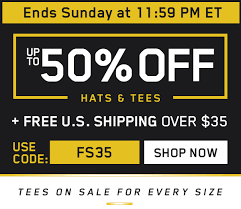 fans edge free shipping code fansedge com up to 50 off tees hats for everyone milled