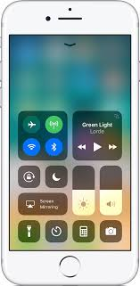 turn light on iphone use and customize control center on your iphone ipad and ipod