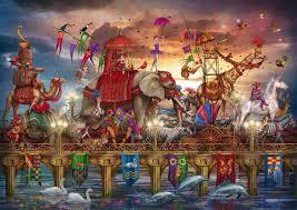 halloween jigsaw puzzles artist ciro marchetti art google search jesters and magic