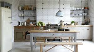 idee deco cuisine blanc et bois cethosia me