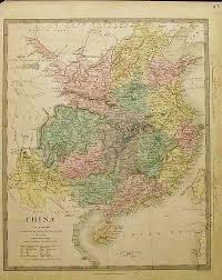 Nanking China Map by Prints Old U0026 Rare China Page
