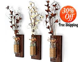 Rustic Sconce Rustic Wall Sconces Etsy
