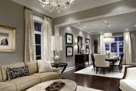 gray walls with brown furniture house decor including incredible
