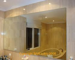 Beveled Bathroom Mirror by Mirrors