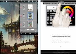 download useful ipad apps for graphic designing paint and drawing