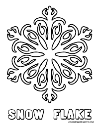christmas snowflakes coloring pages getcoloringpages com
