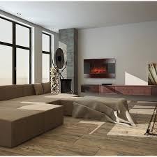 decor cheminee salon cheminée électrique chauffage d u0027appoint et climatisation mobile