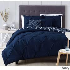 Master Bedroom Bed Sets Avondale Manor Madrid 5 Comforter Set King Navy Blue