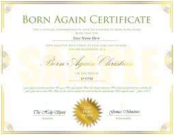 christening certificate template gomas ministries born again certificate sample