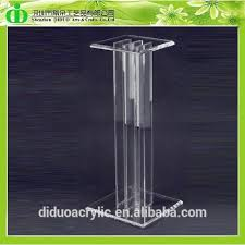 Pedestal Manufacturers Clear Acrylic Pedestal Clear Acrylic Pedestal Suppliers And