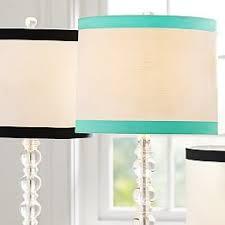Mix Match Lamp Shades PBteen - Mix match bathroom vanity light shades