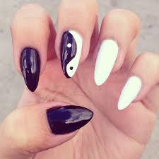 ying yang cat claws nails nails pinterest cat claw nails and