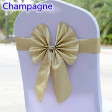 bows for chairs wedding bows for chairs promotion shop for promotional wedding