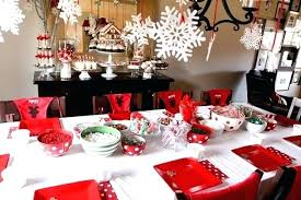 christmas party table decorations christmas party table decorations party table decoration ideas