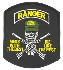 best patch armed forces insignia army ranger mess with the best patch