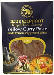 elephant cuisine amazon com blue elephant royal cuisine curry paste yellow