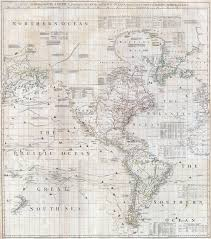 Map Americas by The British Empire And South America Maps