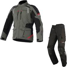 red and black motorcycle jacket alpinestars andes drystar v2 motorcycle jacket u0026 trousers military
