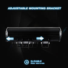 boat led light bar led light bar nilight 12 inch 72w led work light spot flood combo