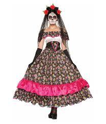 dia de los muertos costumes celebrate dia de los muertos womens dress scary costumes