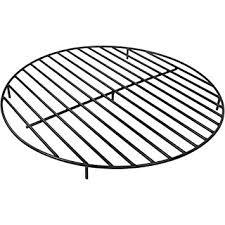 Firepit Grates Sunnydaze Steel Outdoor Pit Grate 40 Inch