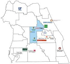 Colleges In Florida Map by Real Talent