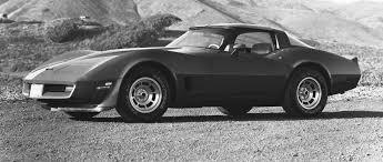 1981 white corvette 1968 to 1982 corvette